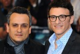 """LONDON, ENGLAND - MARCH 20:  Directors Joe Russo and Anthony Russo attend the UK Film Premiere of """"Captain America: The Winter Soldier"""" at Westfield London on March 20, 2014 in London, England.  (Photo by Anthony Harvey/Getty Images)"""