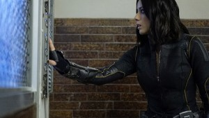 """MARVEL'S AGENTS OF S.H.I.E.L.D. - """"Lockup"""" - As Robbie Reyes struggles to control The Ghost Rider, S.H.I.E.L.D. infiltrates a high-security prison to unravel the secrets that haunt them all, on """"Marvel's Agents of S.H.I.E.L.D.,"""" TUESDAY, OCTOBER 25 (10:00-11:00 p.m. EDT), on the ABC Television Network. (ABC/Jennifer Clasen) CHLOE BENNET"""